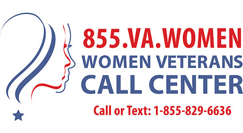855 VA Women - Women Veterans Call Center : 1-855-829-6636